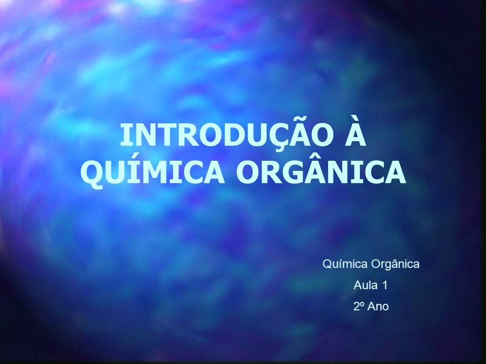 INTRODUÇÃO À QUÍMICA ORGÂNICA Química Orgânica Aula 1 2º Ano