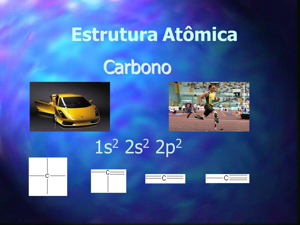 Estrutura Atômica Carbono 1s 2 2s 2 2p 2