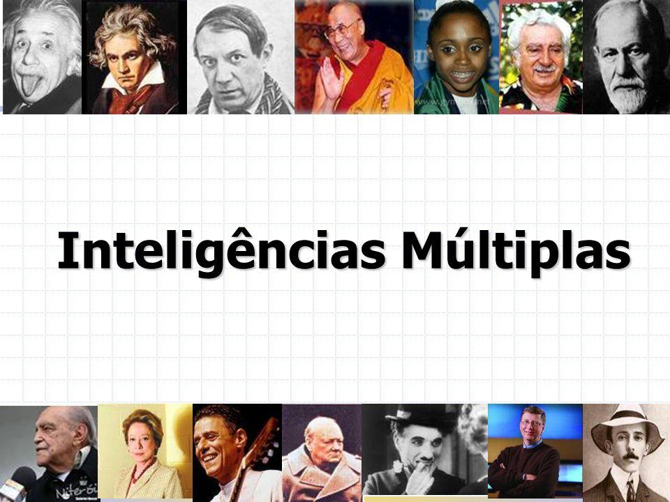 Inteligências Múltiplas Adicionada recentemente à lista das inteligências múltiplas, é a habilidade de identificar e classificar padrões da natureza.