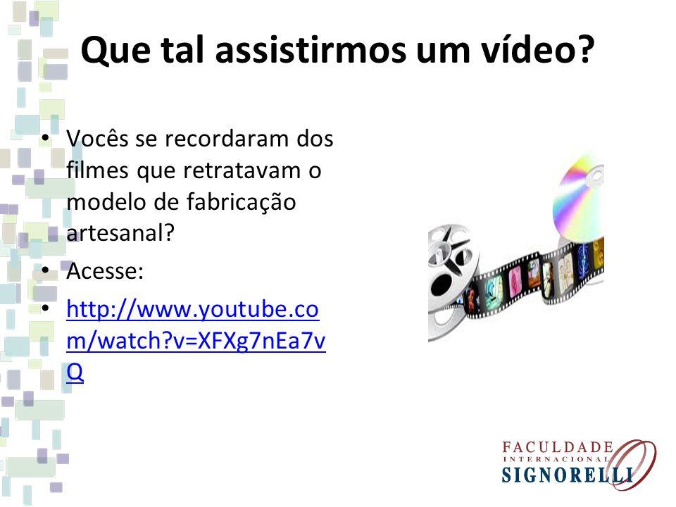 Continuando Sugiro que também assistam: Trabalhadores do Mundo Acesse: http://www.youtube.co m/watch?v=m_eCDB6Y g1I http://www.youtube.co m/watch?v=m_eCDB6Y g1I