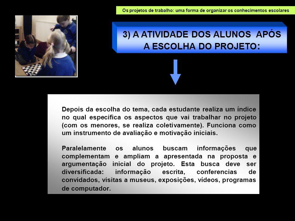 Realizar o tratamento dessa informações é uma das funções básicas dos Projetos.