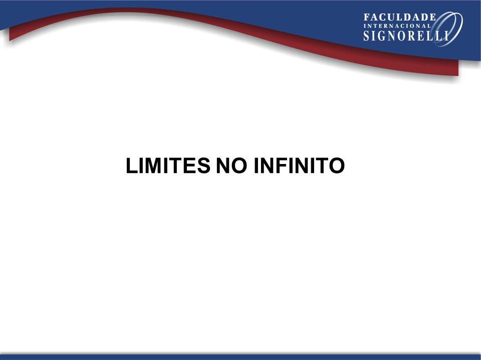 LIMITES NO INFINITO