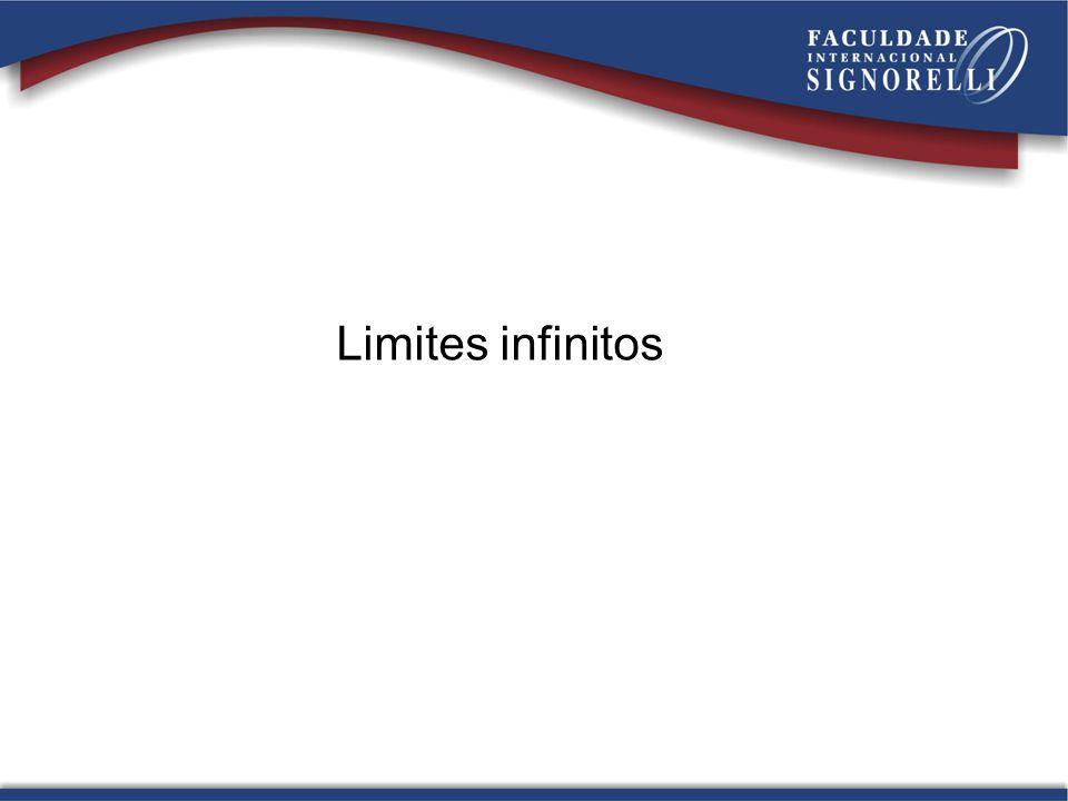Limites infinitos