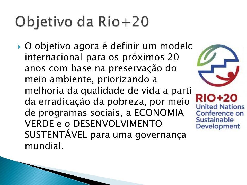 A Conferênica Rio+20 transcorre de 13 a 22 de junho.