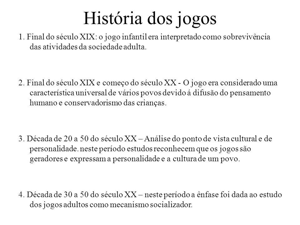 História dos jogos 1.