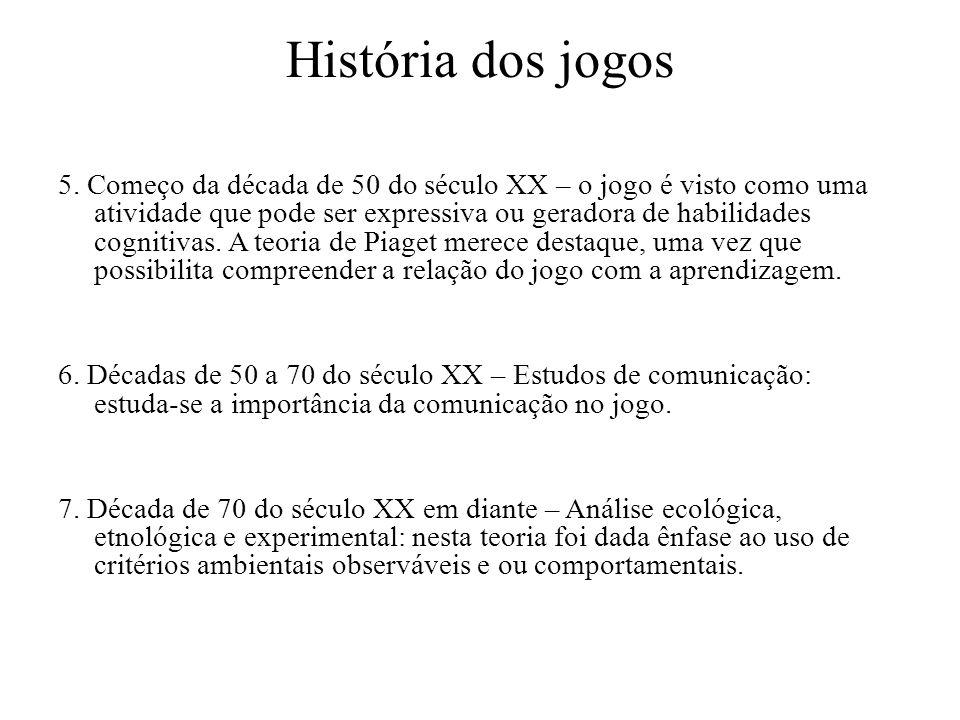 História dos jogos 5.