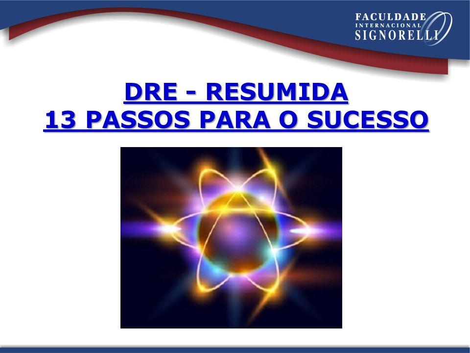 DRE - RESUMIDA 13 PASSOS PARA O SUCESSO