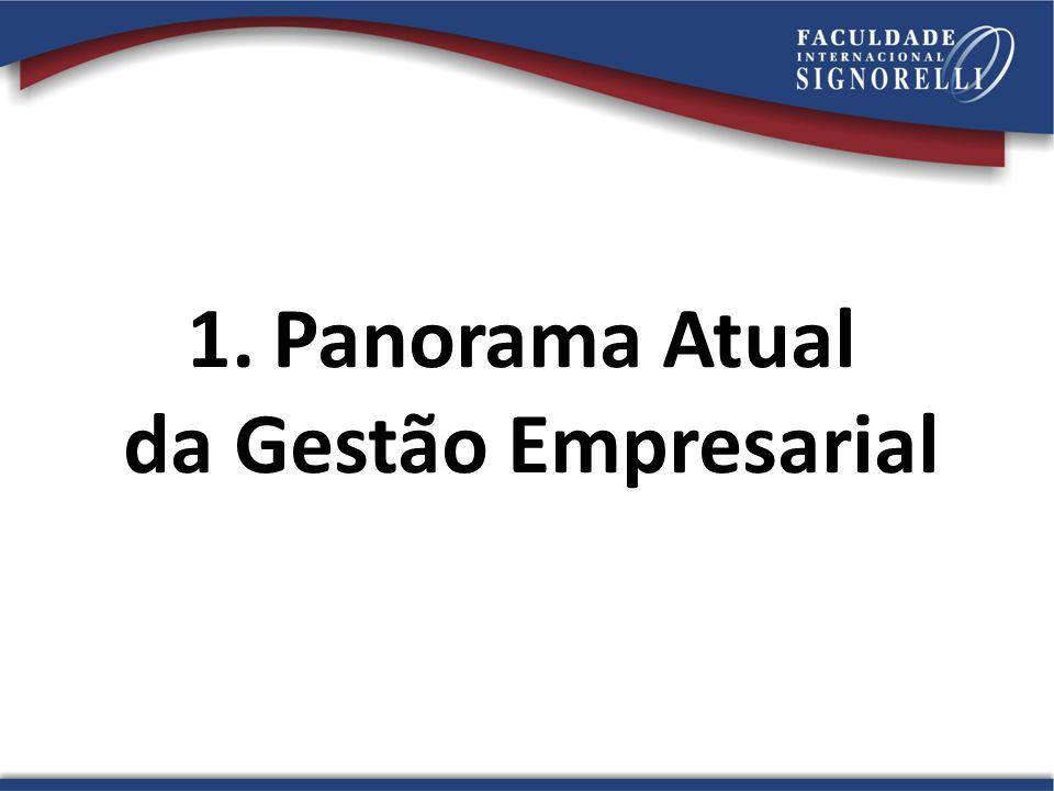 1.Panorama Atual da Gestão Empresarial