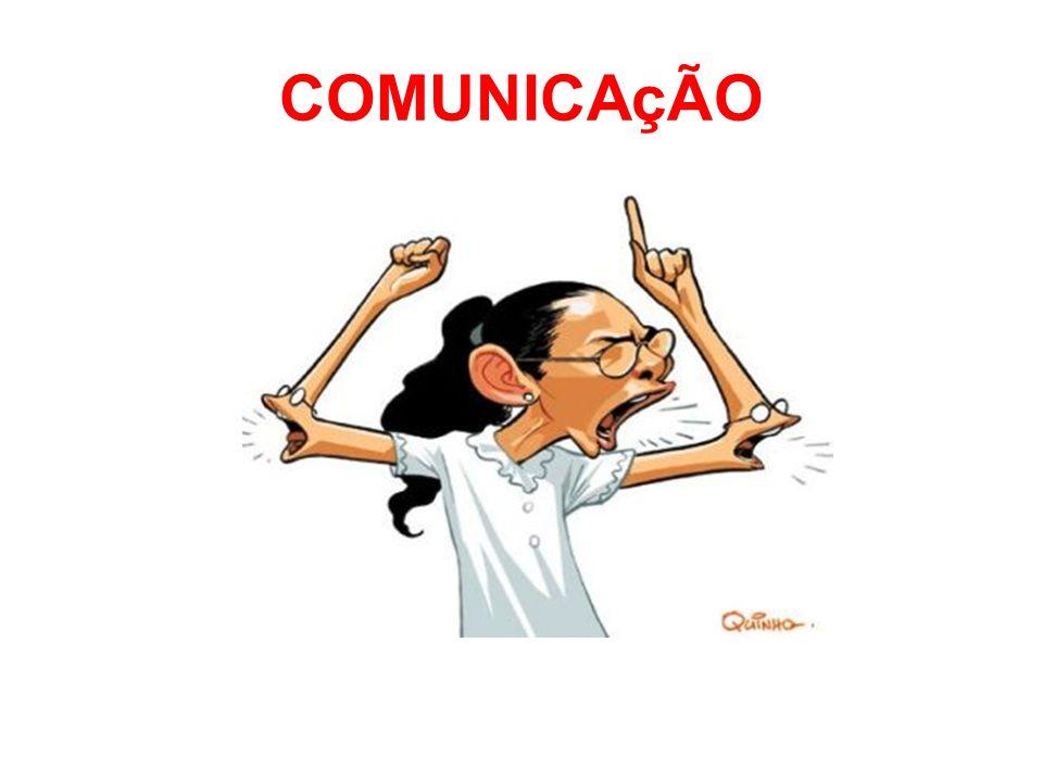 Direções da comunicação na organização: vertical ou horizontal Comunicação vertical: Entre níveis hierárquicos