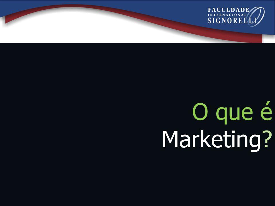 Objetivo da aula Entender os principais conceitos de marketing que temos na atualidade.