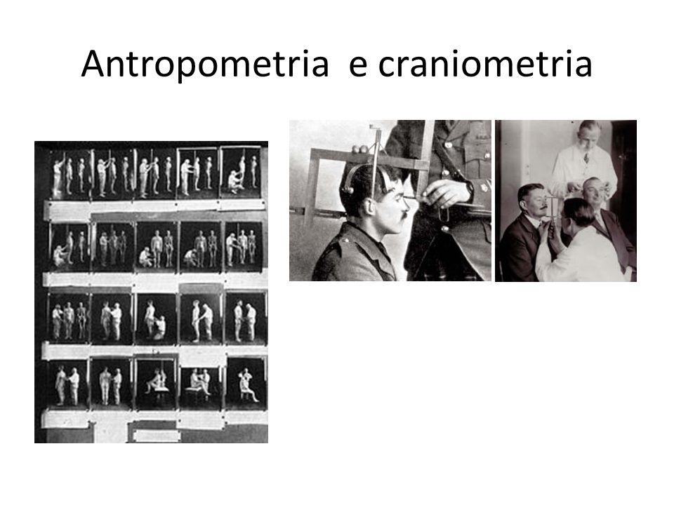 Antropometria e craniometria