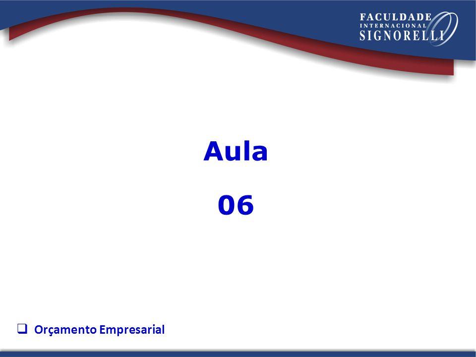 Aula 06 Orçamento Empresarial