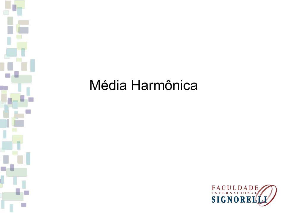 Média Harmônica