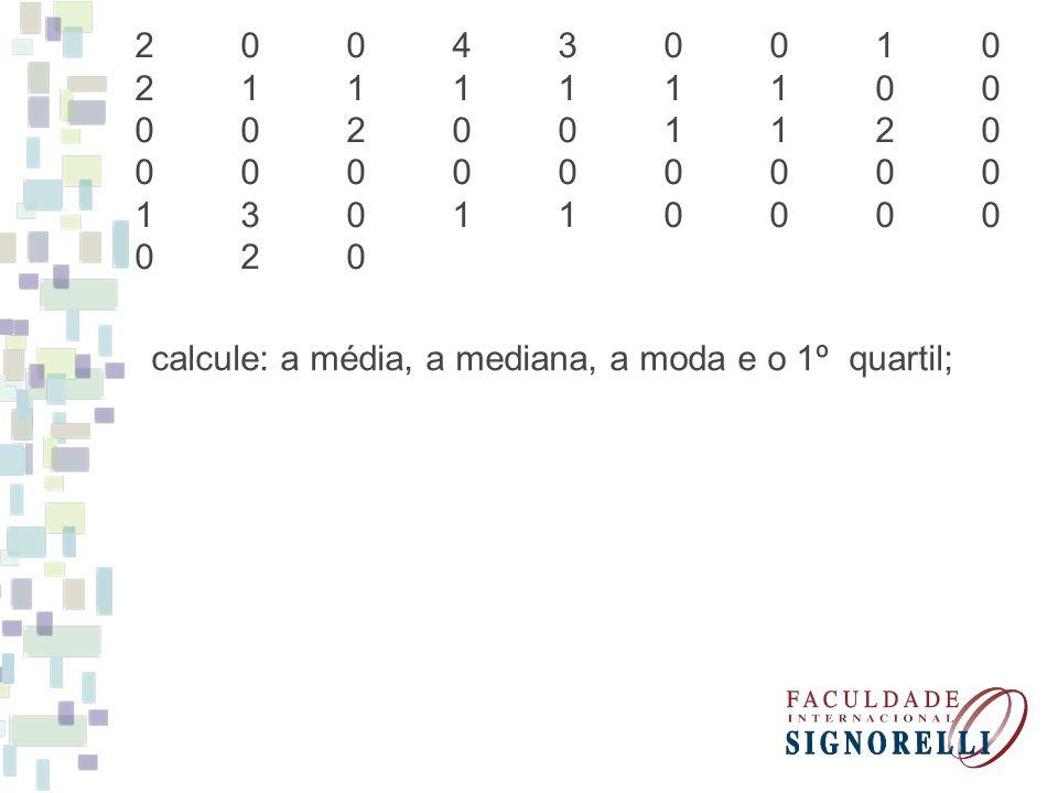 Excel: Comando: =MÉDIA (célula1:célula2) MÉDIA ARITMÉTICA Comando: =MED (célula1:célula2) MEDIANA