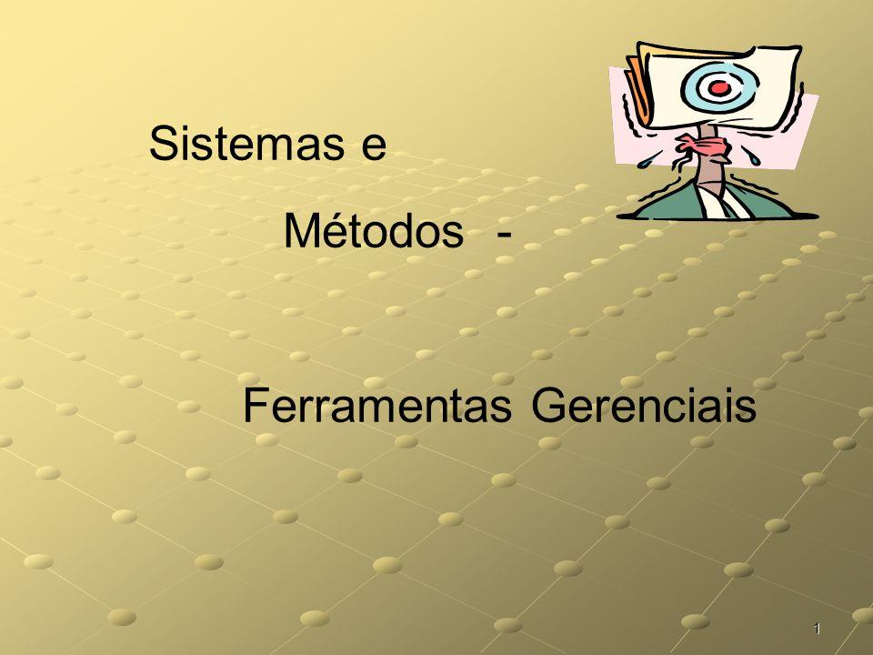 1 Sistemas e Métodos - Ferramentas Gerenciais