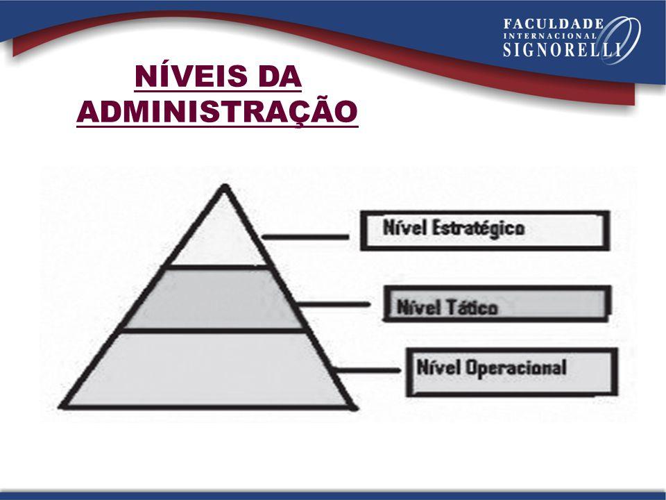 Gerência geral: comando geral do processo produtivo e acionamento dos recursos disponíveis para a relização dos objetivos fixados pela direção.