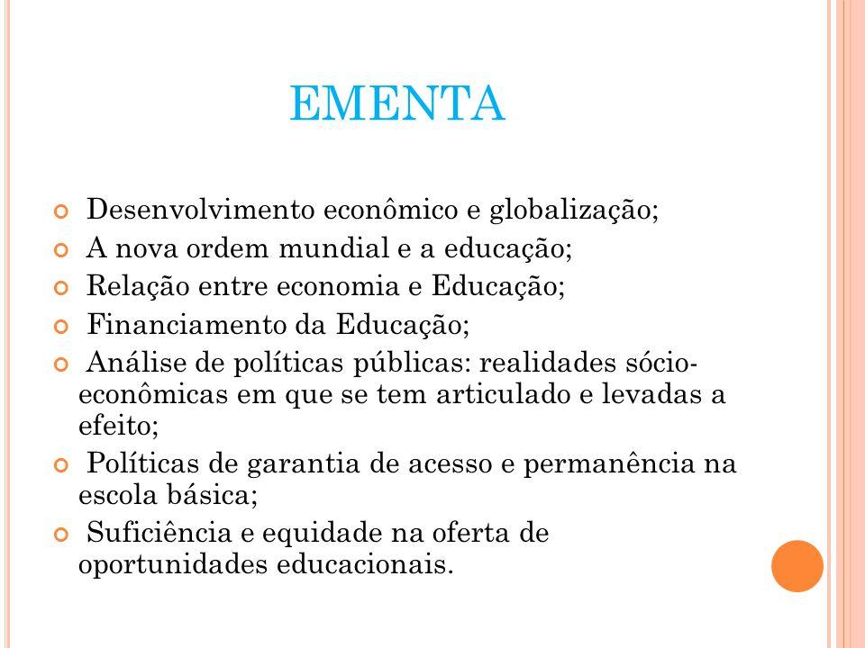 MODERNIDADE E EDUCAÇÃO; CARACTERÍSTICAS DA MODERNIDADE