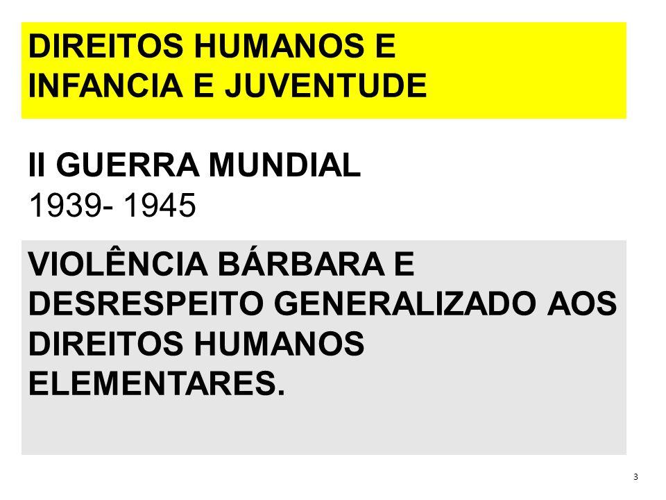 ORGANIZAÇÃO INTERNACIONAL DO TRABALHO – ONU...