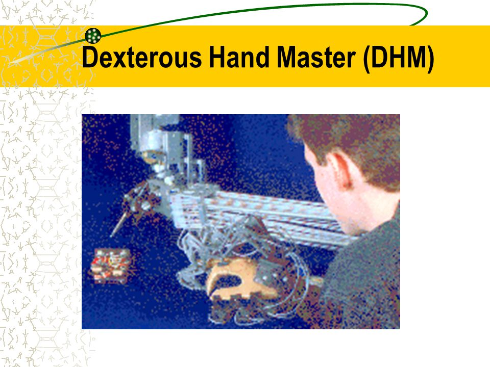 Dexterous Hand Master (DHM)