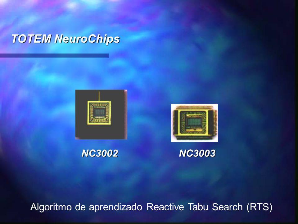 TOTEM NeuroChips NC3002 NC3003 Algoritmo de aprendizado Reactive Tabu Search (RTS)