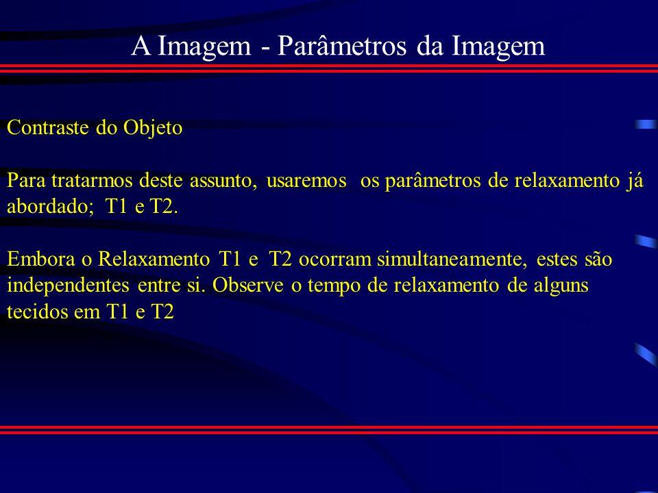 Obtenção da Imagem - Bobina de volume integral circunferenciais :- menores e separadas, também circundam a parte examinada...