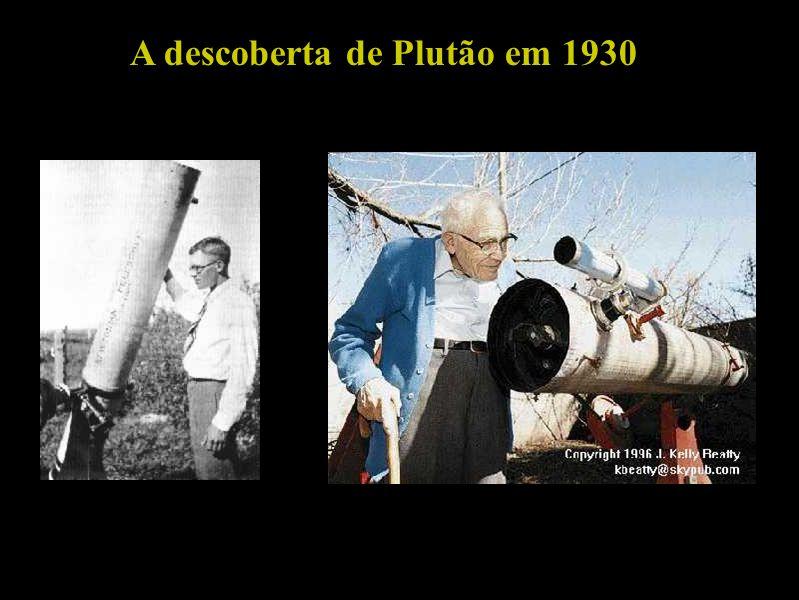 A descoberta de Plutão em 1930