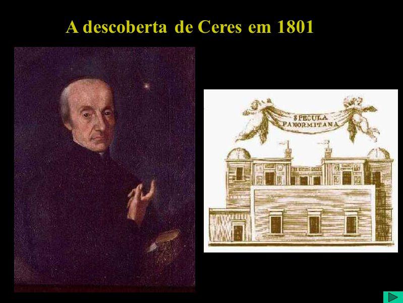 A descoberta de Ceres em 1801