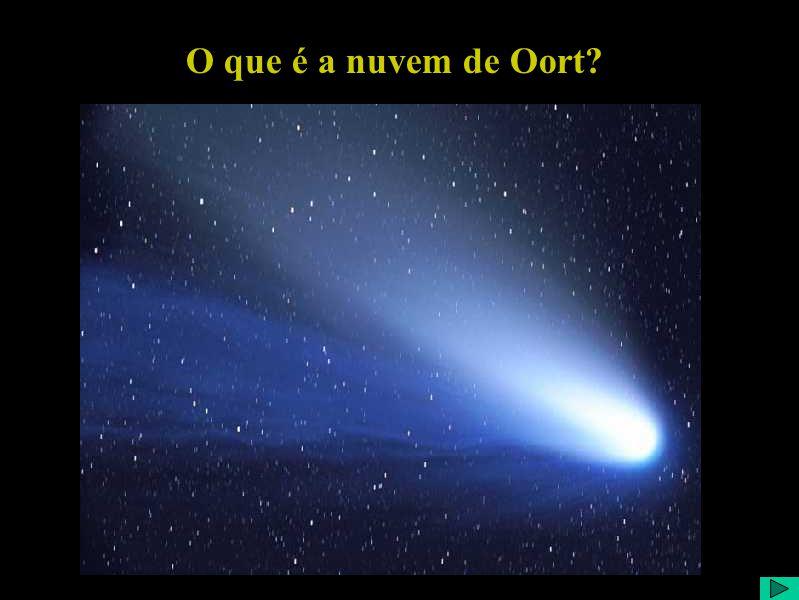 O que é a nuvem de Oort?