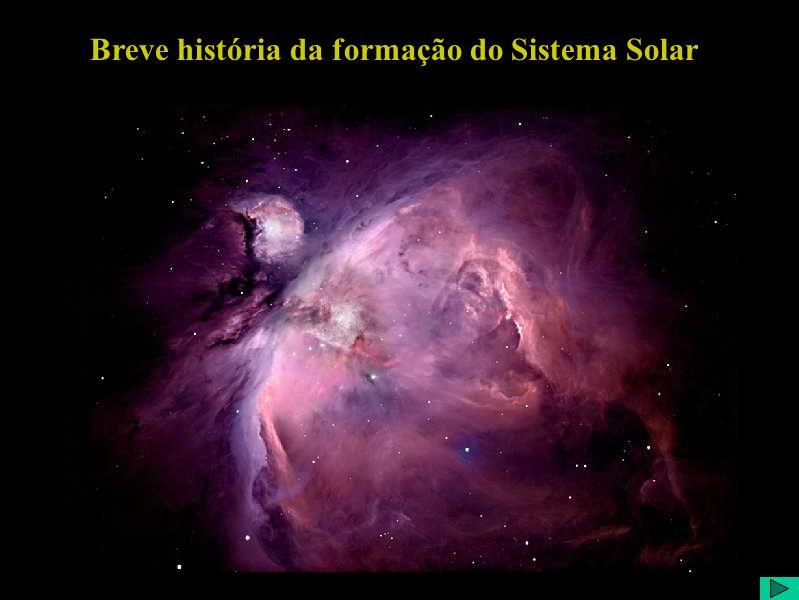 Breve história da formação do Sistema Solar