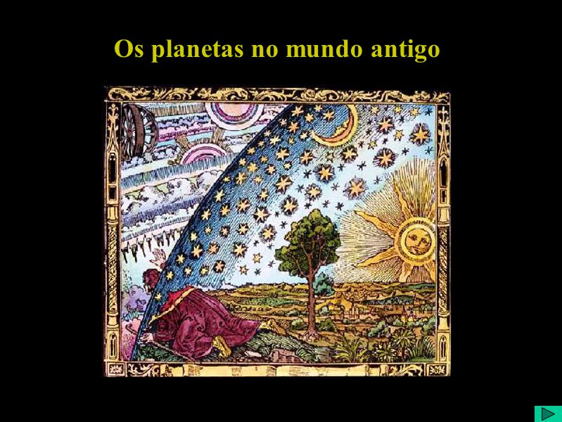 Sol Os planetas no mundo antigo