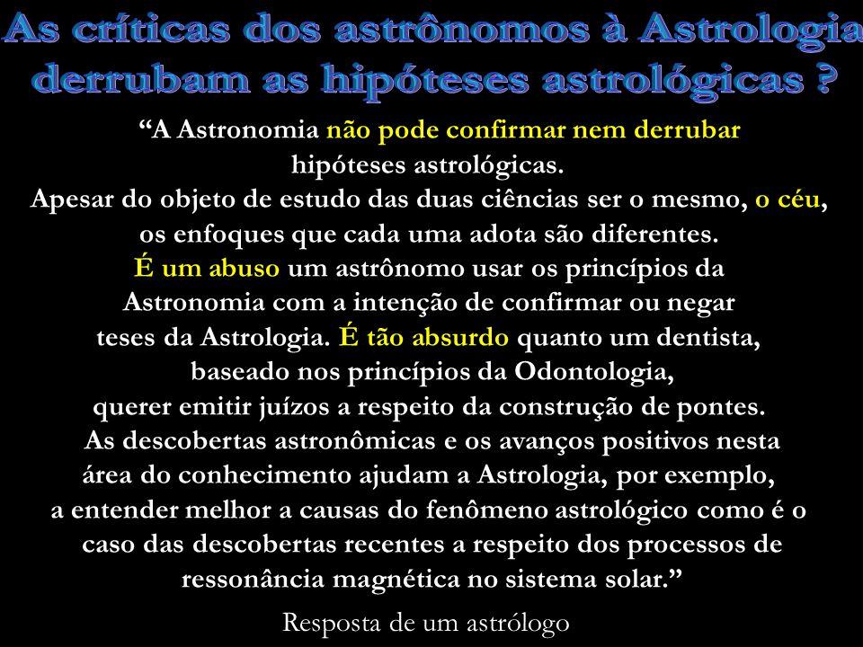 Por que a Astrologia não descobriu os planetas Urano (1781), Netuno (1846) e Plutão (1930), sendo Netuno caracetrizado como o transmissor de uma sensibilidade sublime que se manifesta por clarividência e telepatia.