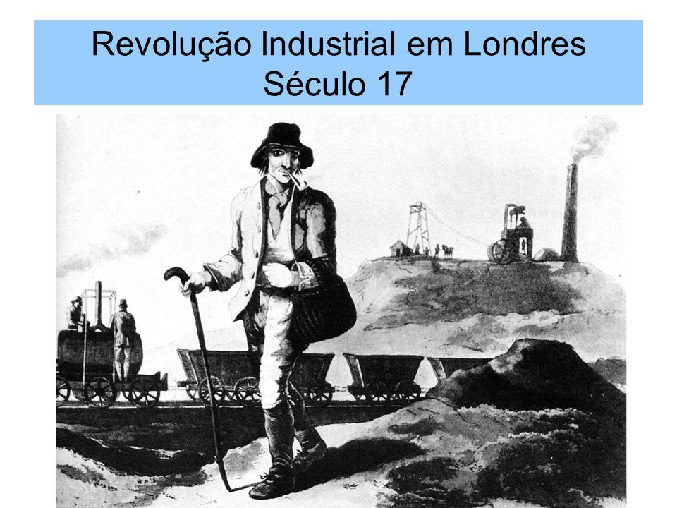 Revolução Industrial em Londres Século 17