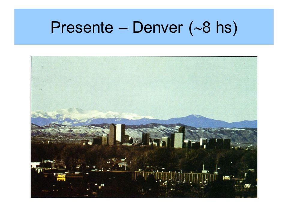Presente – Denver ( 8 hs)