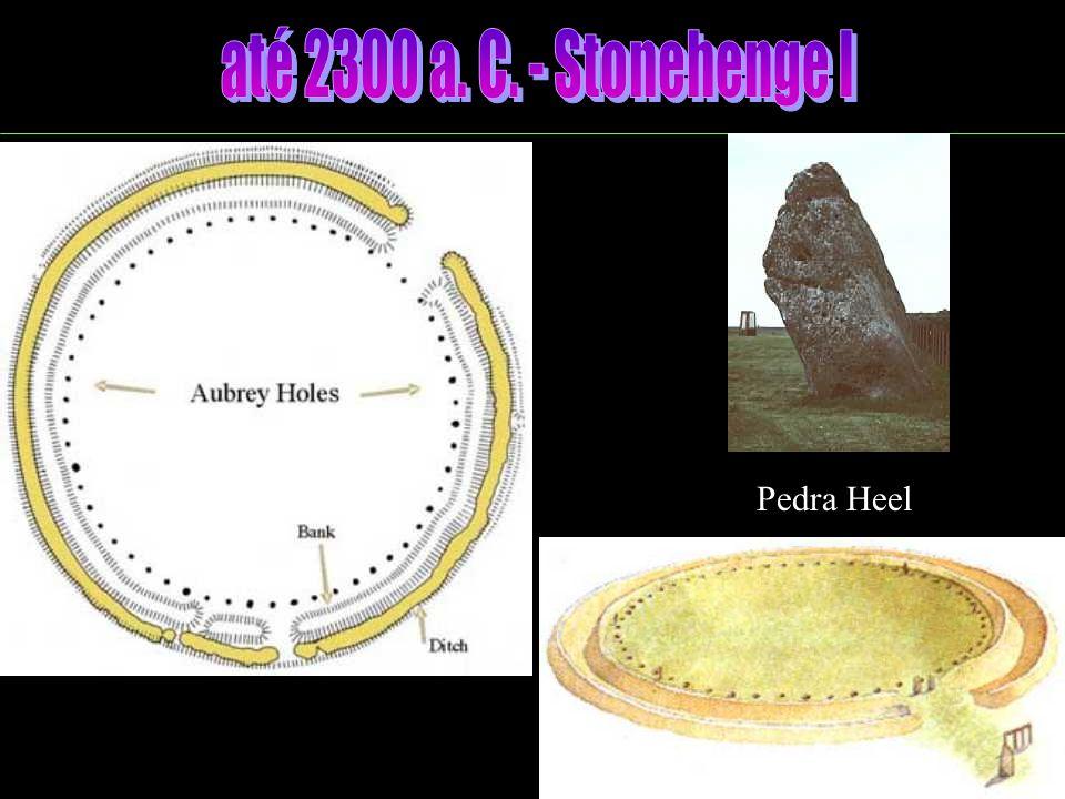 Neolítico - Túmulos compridos - Movimentação de grandes pedras - Monumentos megalíticos - Astronomia INÍCIO DA CONSTRUÇÃO DE STONEHENGE!.