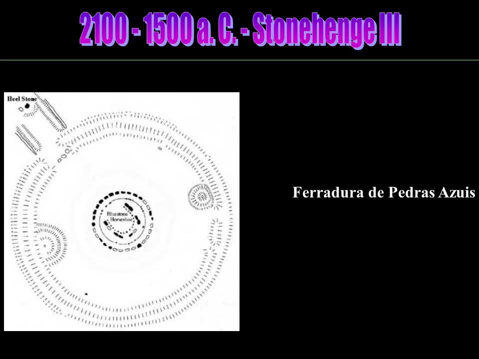 Círculo de Pedras Azuis Oval de Pedras Azuis