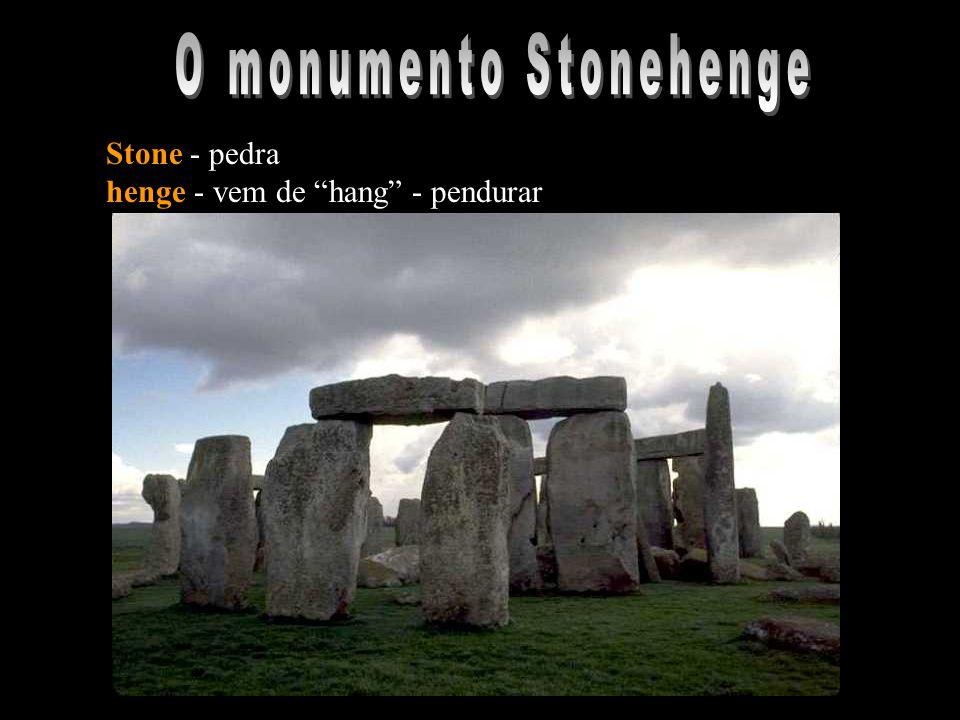 Bibliografia : STONEHENGE - Julian Richards STONEHENGE - Templo misterioso da pré-história Fernand Niel Sites de consulta: http://www.anima.demon.co.uk/stones/stonehen/index.html http://www.tivas.org.uk/stonehenge/stone_main.html http://www.henge.demon.co.uk/wiltshire/shenge.html http://www.christiaan.com/stonehenge/stonemain.html http://www.chris-collyer.freeserve.co.uk/stone/stonehenge.htm http://www.stonehenge.ukf.net/ http://www.bluffton.edu/~sullivanm/stonehenge/stonehenge.html http://www.amherst.edu/~ermace/sth/sth.html