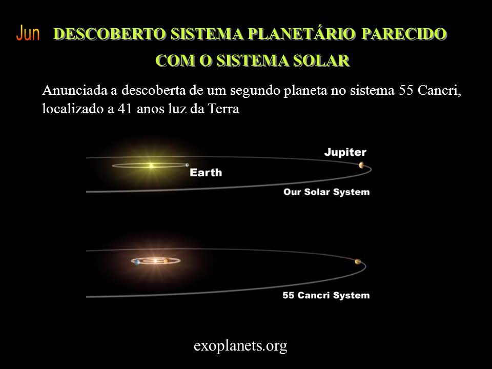 O PRIMEIRO PLANETA DE UMA ESTRELA GIGANTE ASTRÔNOMOS ACHAM MAIS UM EXOPLANETA SIMILAR A JUPITER 102º exo-planeta em torno da estrela Tau 1 Gruis ENCON