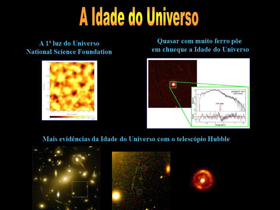 Nova evidência da aceleração da expanção do Universo Dados de 250 mil galáxias Depois de 20 anos, astrônomos da Universidade de Chicago fazem descober