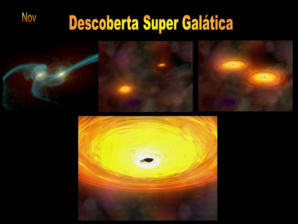A cor do Universo - astrônomos da Universidade Johns Hopkins Formação de aminoácidos no meio interestelar - cientistas da NASA Encontrado grupo de gal