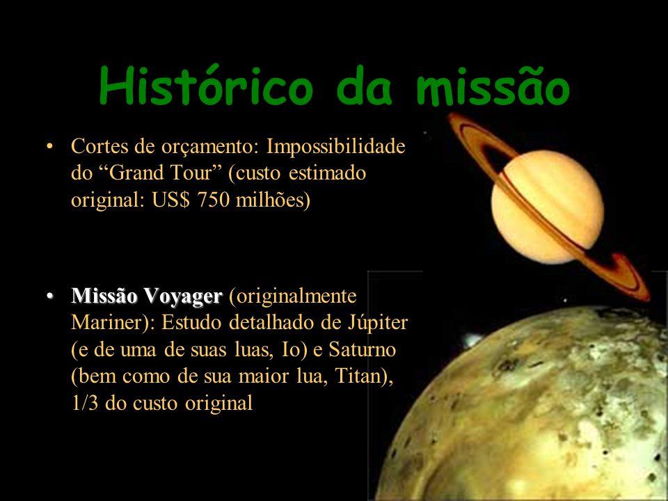 –Voyager 1 –Voyager 1: Flybys por Júpiter e Saturno.