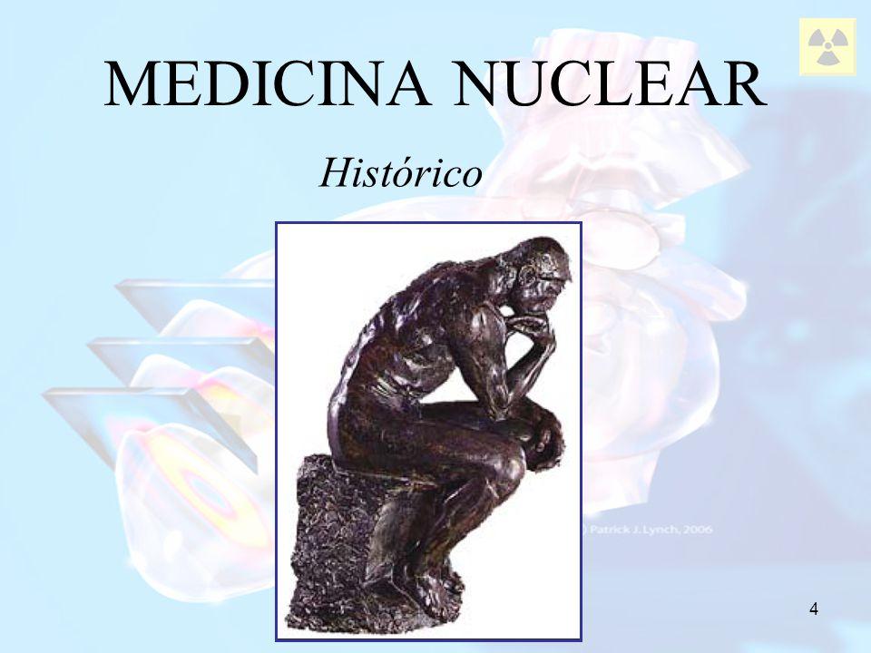 5 Físico francês; 1896: observou a existência de raios emitidos pelo urânio capazes de impregnar um filme fotográfico; MEDICINA NUCLEAR Antonie-Henri Becquerel 1859 - 1906 Pai da radioatividade.