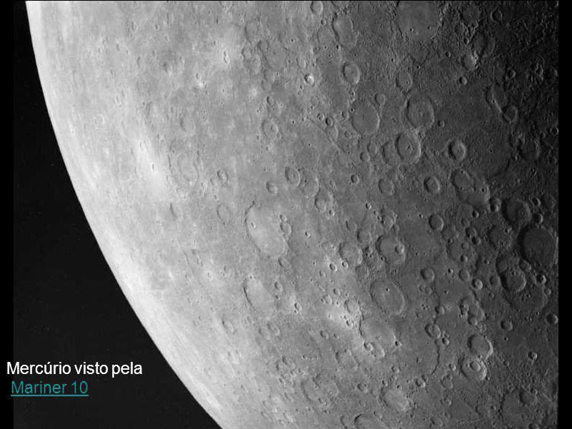 Mercúrio visto pela Mariner 10Mariner 10