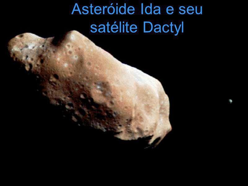 Asteróide Ida e seu satélite Dactyl