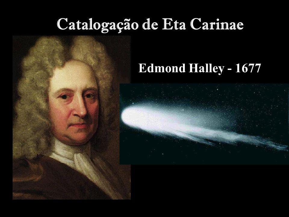 Catalogação de Eta Carinae Edmond Halley - 1677