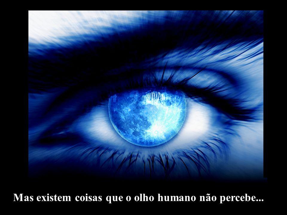 Mas existem coisas que o olho humano não percebe...