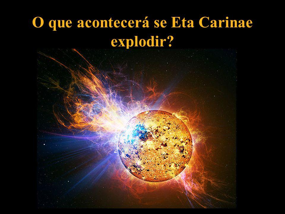 O que acontecerá se Eta Carinae explodir?