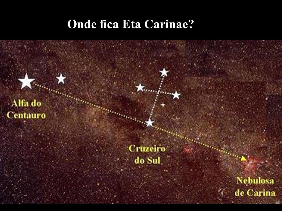 Onde fica Eta Carinae?