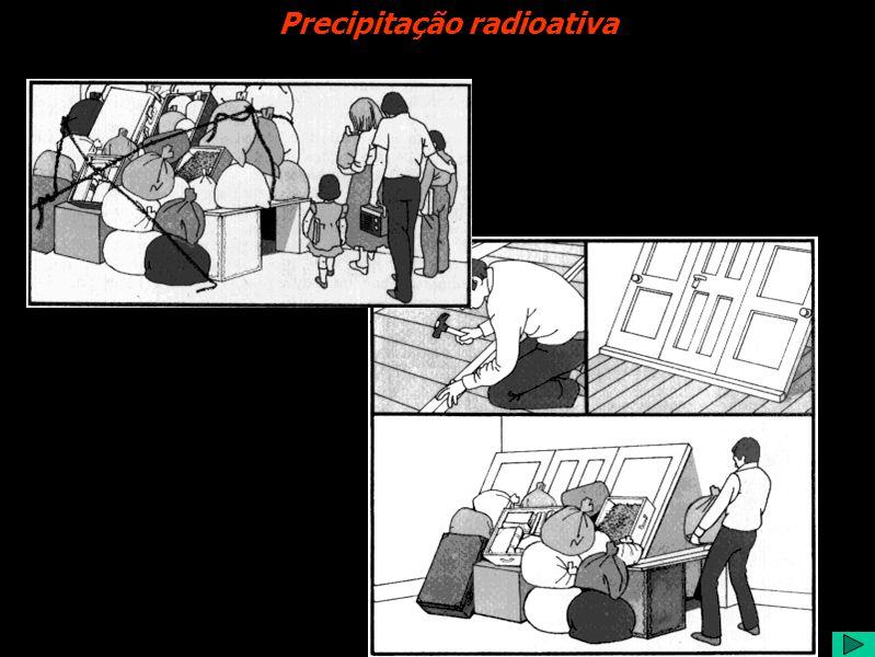 Precipitação radioativa