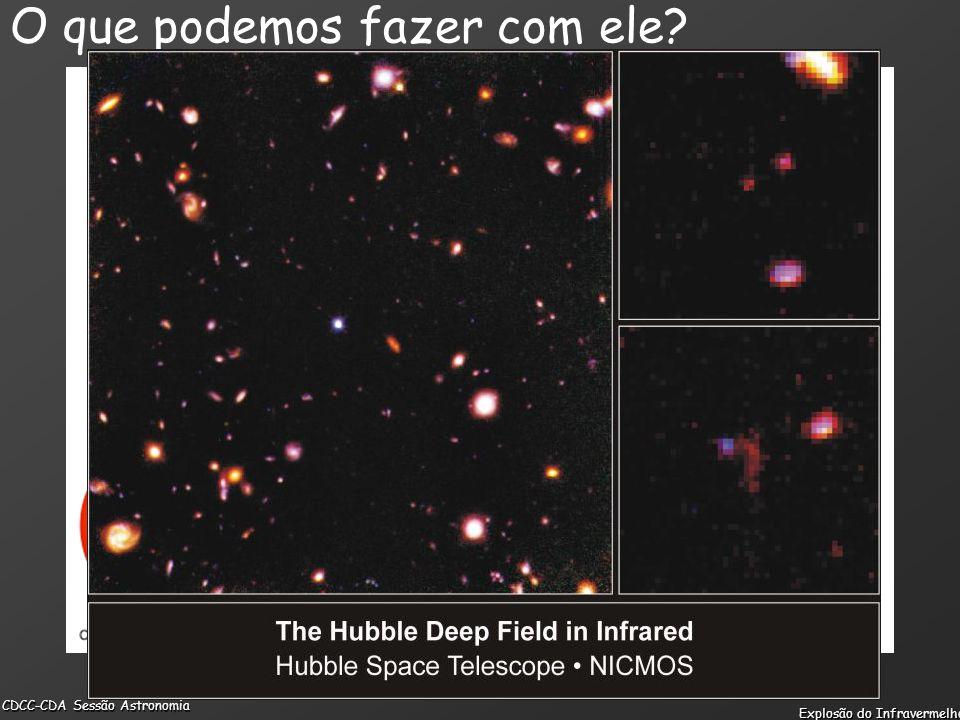 CDCC-CDA Sessão Astronomia Explosão do Infravermelho O que podemos fazer com ele?