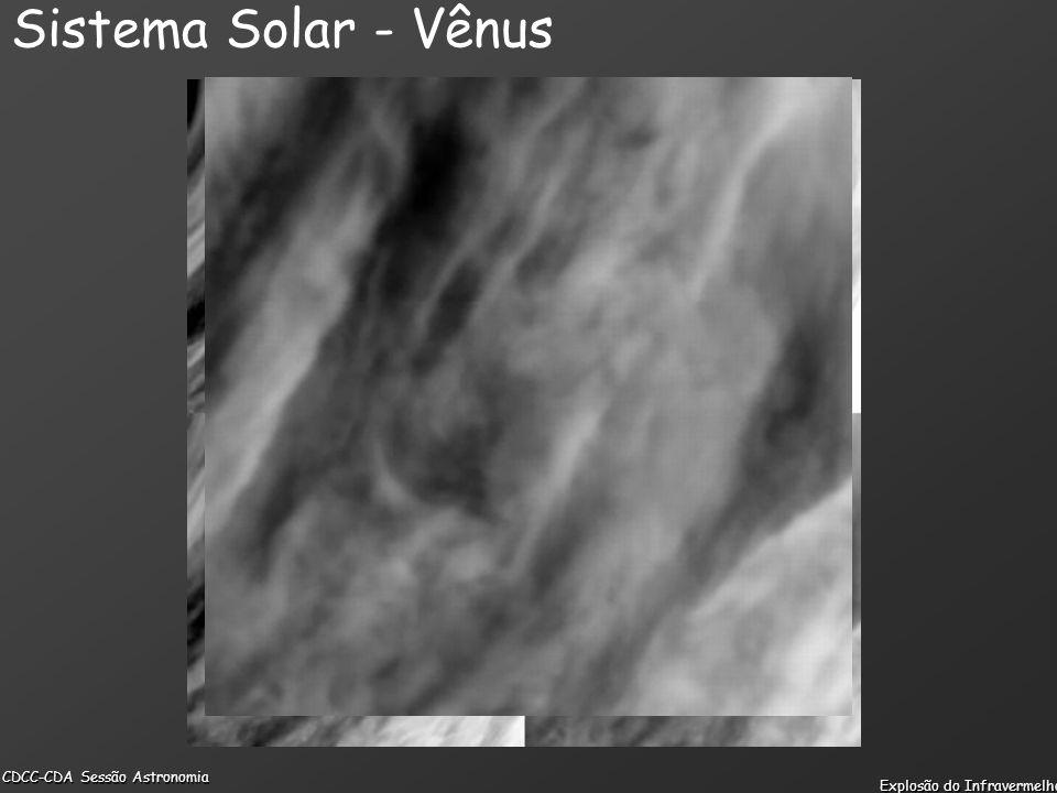 CDCC-CDA Sessão Astronomia Explosão do Infravermelho Sistema Solar - Vênus